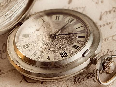 Image for our History Page Showing Old Pocket Watch